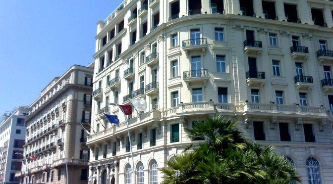 Excelsior Hotel In Naples In Holiday In Luxury Experience